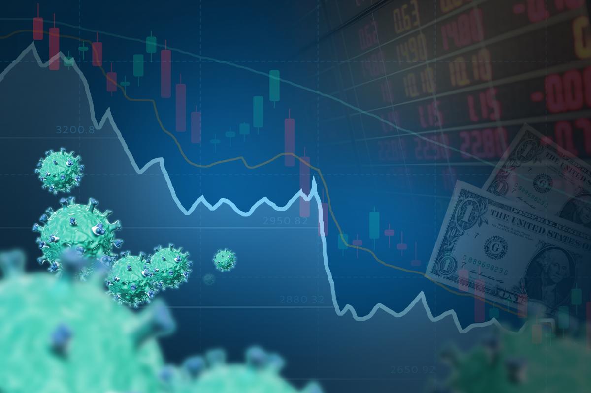 financial-graph-superimposed-with-dollar-bill-and-coronavirus