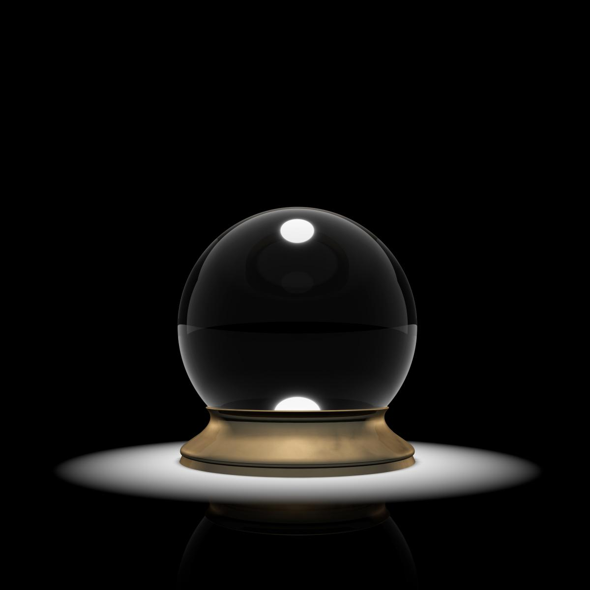 crystal-ball-in-a-spotlight-on-black-background