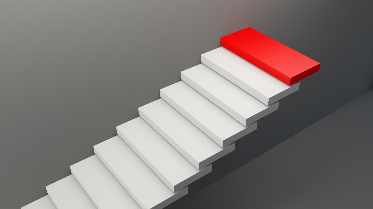floating-staircase-with-red-top-step