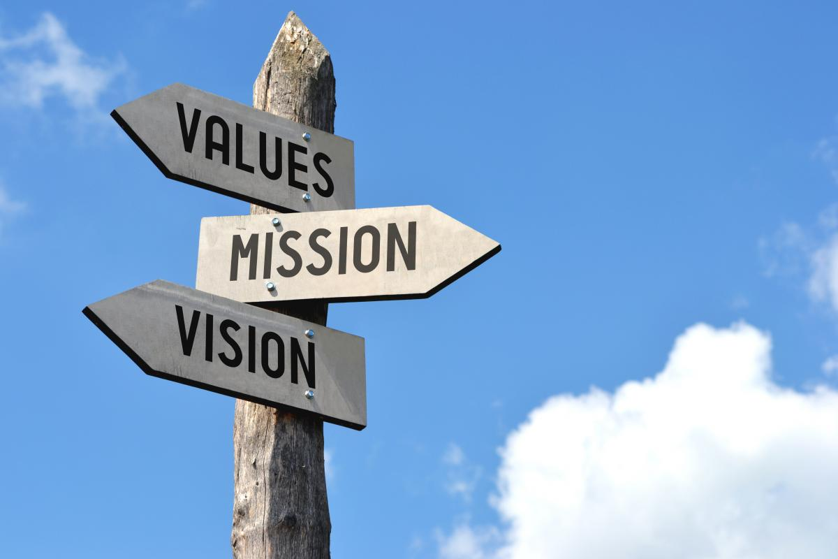 wooden-sign-with-words-values-vision-mission