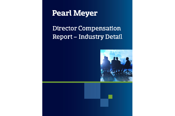 Director Compensation Report Industry Detail cover image