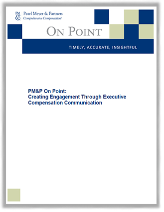 Creating Engagement Through Executive Compensation Report Cover