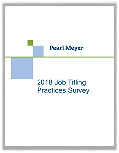Report on Job Titling Practices Report Cover